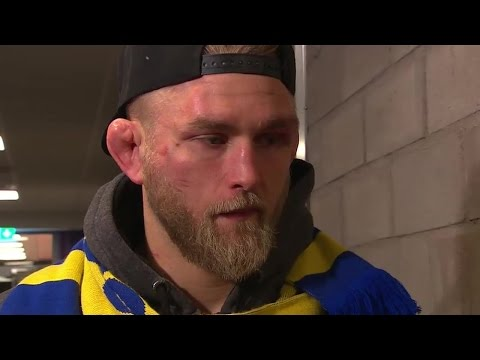 Gustafsson talks disappointing loss to Anthony Johnson