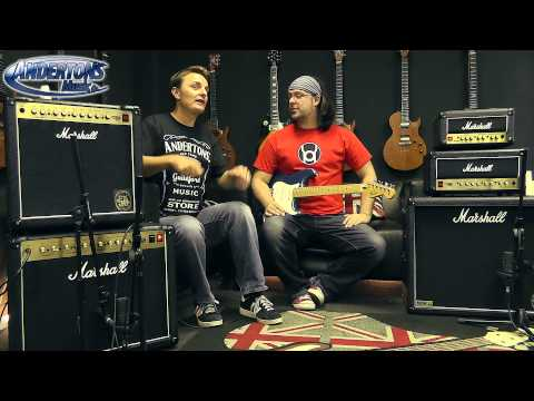 Marshall DSL 15C 15H 40C Demo