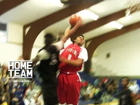 Sophomore Corey Sanders Shuts The Gym DOWN With The NASTY Dunk!! 3 Sick Dunks From One Game...
