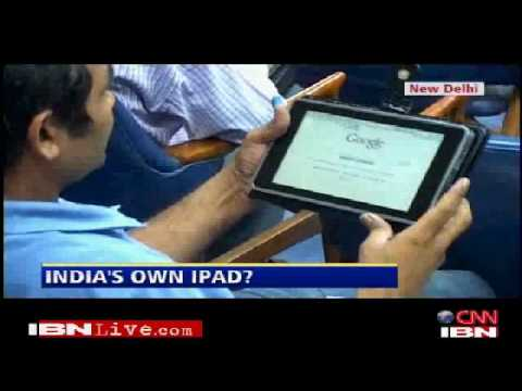 India unveils $30 tablet PC (Android) - India's iPad