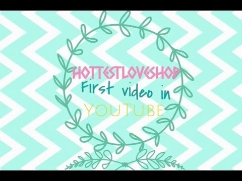 hottestloveshop's first video~黏土介紹:d youtube