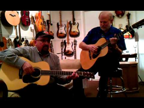 Mandolin Brothers: Martin Stefan Grossman HJ-38&Martin Custom OM-18 Special