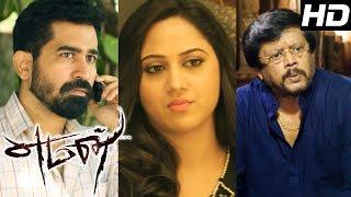 Yaman | Yaman full Tamil Movie scenes | Vijay Antony meets Thiyagarajan | Vijay Antony | Mia George