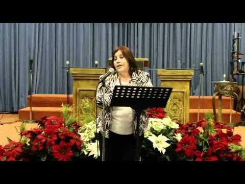Haciendo Sopa en Navidad (1 d 4) -- Pastora Rebeca Santiago