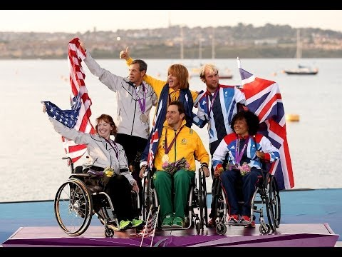 Sailing highlights from London 2012 Paralympic Games