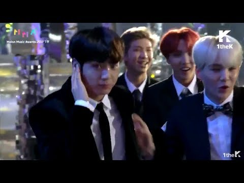 BTS Being Extra for Suga @ MMA 2017