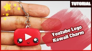Youtube Logo - Kawaii Charm ✰ Tutorial ✰ Polymer Clay ✰ Porcelana Fría