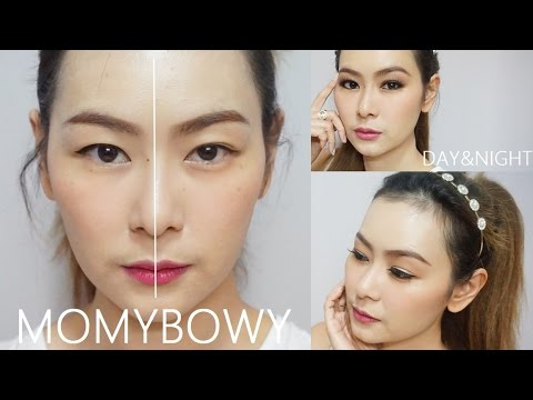 Momybowy :  สอนแต่งหน้าสำหรับสาวตา2ชั้นหลบในง่ายๆ ด้วยอายไลเนอร์และอายแชโดวแบบสโมคกี้อาย