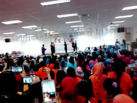 Dance competition at western digital malaysia