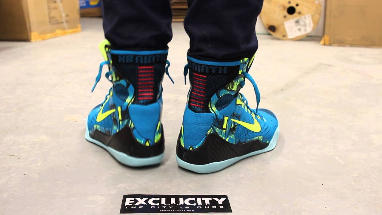 Kobe 9 Elite Perspective On-feet Video at Exclucity