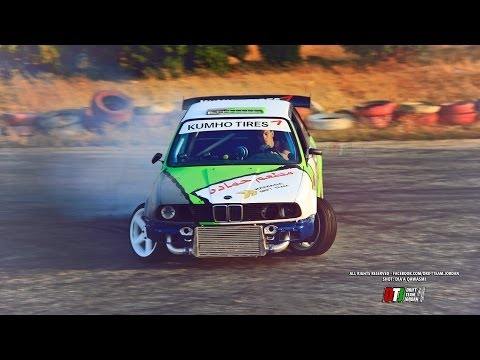 DRIFT MACHINE - BMW E30 2.5 Turbo - Idle, Antilag, DRIFT & Burn! Pure Sound [HD]