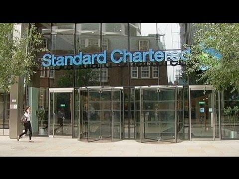 Iran accusations slam StanChart shares