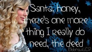Watch Taylor Swift Santa Baby video