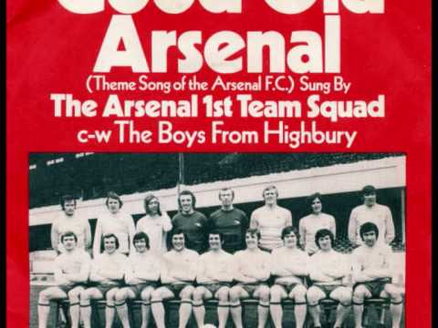 ARSENAL FC (1st Team Squad) 1971 - 'The Boys From Highbury' - 45rpm