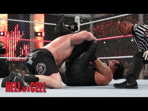 media the undertaker vs brock lesnar hell in a cell no m