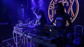 Goatika (GOA) & Alwoods (GRE) live on Sticky Jam festival Moscow part 1