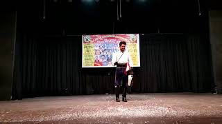 Master magician John . Performance on  All India Magician Association 45th mega magic festival