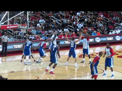 DeAndre Jordan showing some post moves