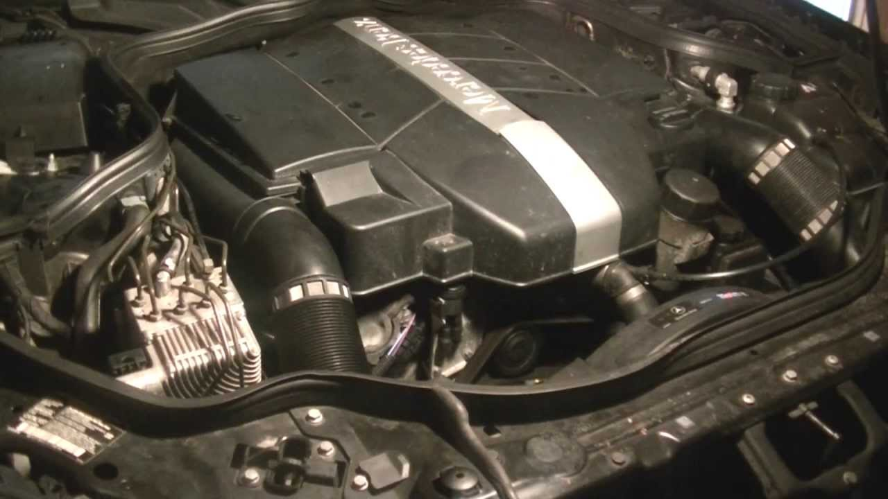 Alternator Replacement 2003 Mercedes E320 Youtube