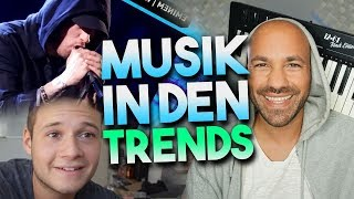 Musik in den YOUTUBE TRENDS (Eminem, Ed Sheeran, Inscope21 & Beat Produzent)