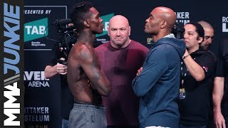 UFC 234: Anderson Silva, Israel Adesanya fight tears after staredown