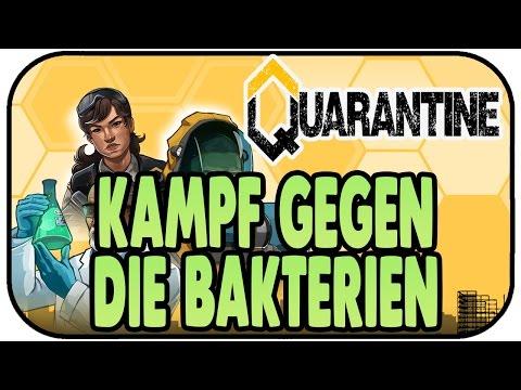 KAMPF GEGEN DIE BAKTERIEN - QUARANTINE Early Access ★ Gameplay Deutsch