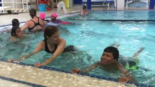 New Americans learn to swim at the Concord YMCA