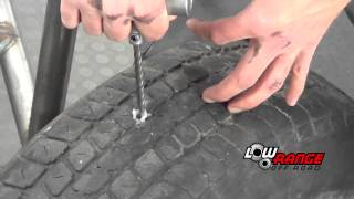 How To Plug a Hole in a Tubeless Tire