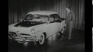 Black and White Old Car Dodge 1955 ★ Video