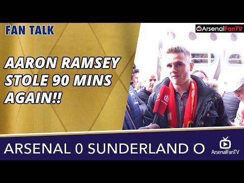 Arsenal v Sunderland (Away) 0-0 | Aaron Ramsey Stole 90 Minutes Again!!