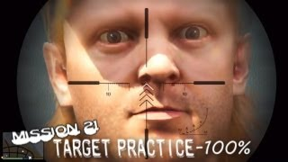 Grand Theft Auto V - x360 - 21 - Target Practice - [100% - Gold]
