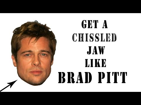Chiseled Jaw Exercises How to Get a Chiseled Jaw Like