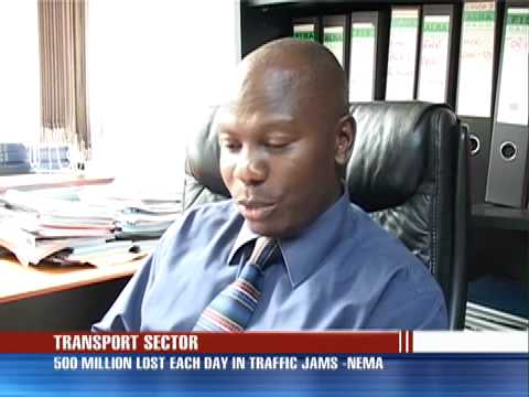 Traffic Jams cost motorists 500 million annually