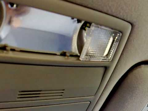 How To Change Map / Reading Lights on Toyota Camry 2007 Generation 6