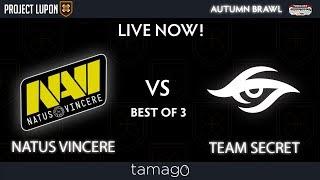 Team Secret vs Natus Vincere Game 1 (BO3) Maincast Autumn Brawl