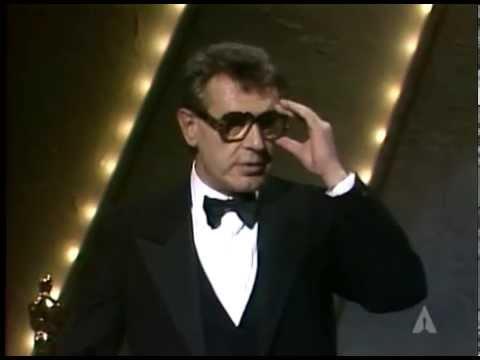 "Milos Forman winning The Oscar® For Directing ""Amadeus"""