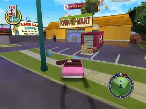 Lets Play Simpsons Hit & Run 1 - Los Simpson conocen Grand Thef...