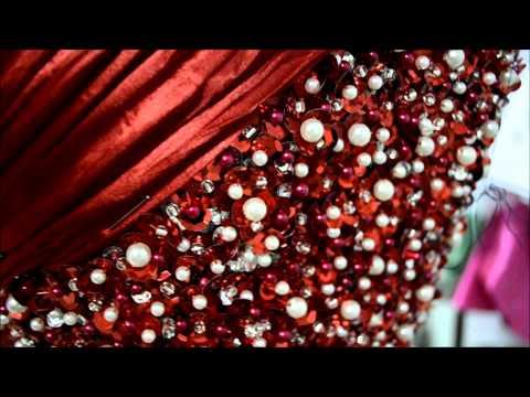 Técnica de Drapeado - Vestido Formatura para 05/10/2013
