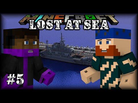 Minecraft | Lost at Sea | #5 ESTABLISHING A PERIMETER