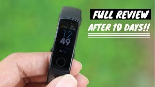 Honor Band 4 Full Review | After 10 days🔥🔥