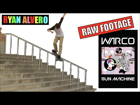 Ryan Alvero: Sun Machine (RAW FOOTAGE)