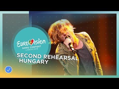 AWS - Viszlát Nyár - Exclusive Rehearsal Clip - Hungary - Eurovision 2018