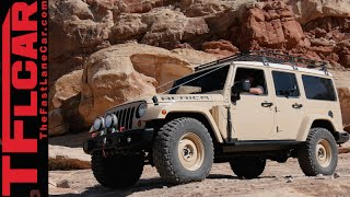 Jeep Africa Concept: Land Rover Defender