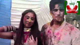 Karan Tacker and Krystle Dsouza Unedited Holi Segment