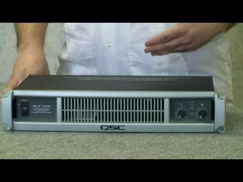 QSC PLX Series Power Amplifiers