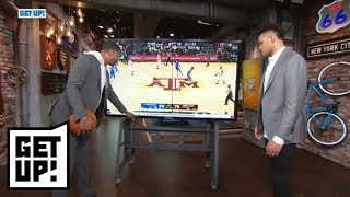 Jalen Rose and Kevin Knox break down game film from Kentucky vs. Texas A&M | Get Up! | ESPN