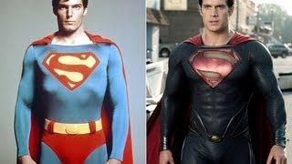 Superman 1978 vs Superman 2013