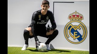 Thibaut Courtois ● Defensive Skiils ● Presentation To Real Madrid