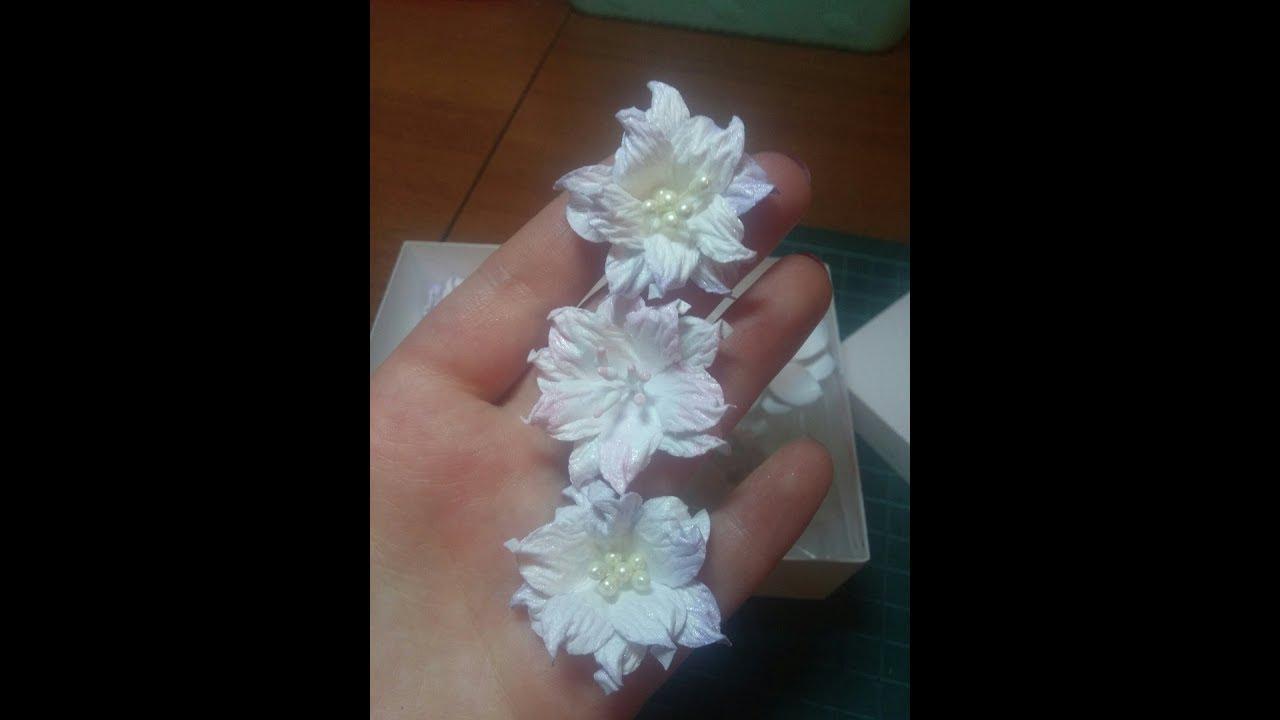 Лилии из бумаги своими руками скрапбукинг 63