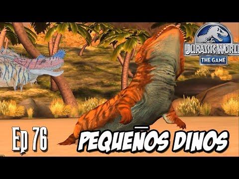 PEQUEÑOS DINOSAURIOS Y EVENTO ANFIBIO!!! // Jurassic World: El Juego #76 - En HD